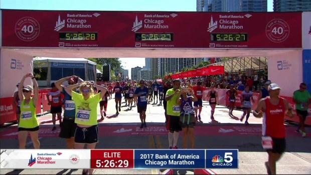 2017 Bank of America Chicago Marathon Finish: 5:24:07