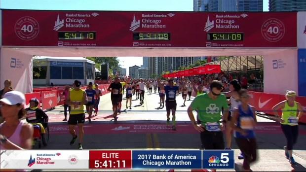 2017 Bank of America Chicago Marathon Finish: 5:38:21