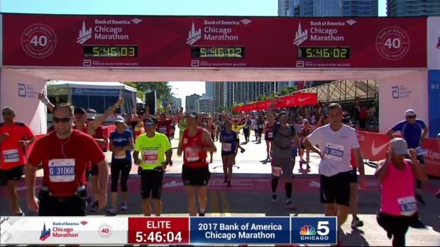 2017 Bank of America Chicago Marathon Finish: 5:43:57