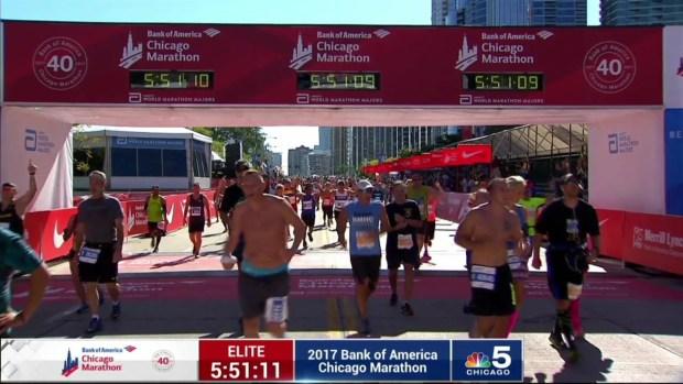 2017 Bank of America Chicago Marathon Finish: 5:48:07