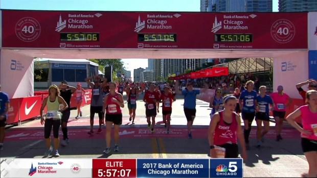 2017 Bank of America Chicago Marathon Finish: 5:54:11
