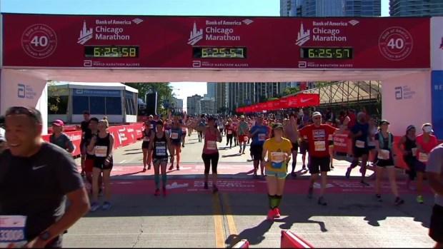 2017 Bank of America Chicago Marathon Finish: 6:23:57