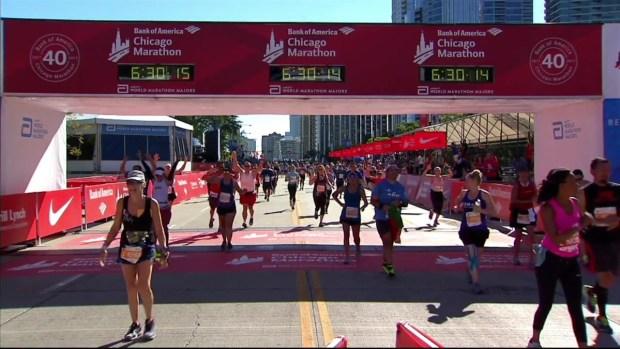 2017 Bank of America Chicago Marathon Finish: 6:19:44