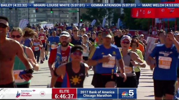 2017 Bank of America Chicago Marathon Finish: 6:44:15