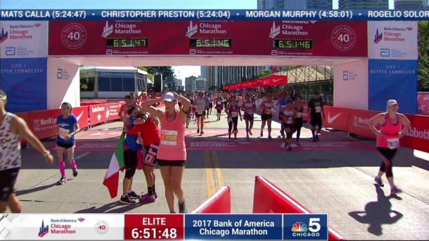 2017 Bank of America Chicago Marathon Finish: 6:48:56