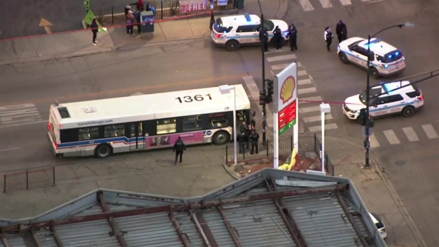 Boy, 13, among injured in Chicago shooting near city bus