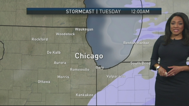 [CHI] Forecast: Messy Evening Commute Ahead