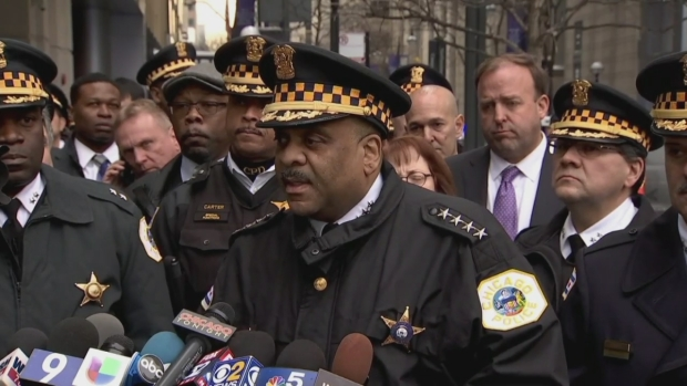 Johnson Gives Emotional Statement After Cmdr.'s Shooting