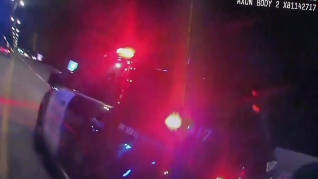 RAW 2: Elgin Police Release Video After Woman Shot on I-90