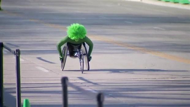 Siemann, McGrory Win 2018 Bank of America Shamrock Shuffle Wheelchair Races