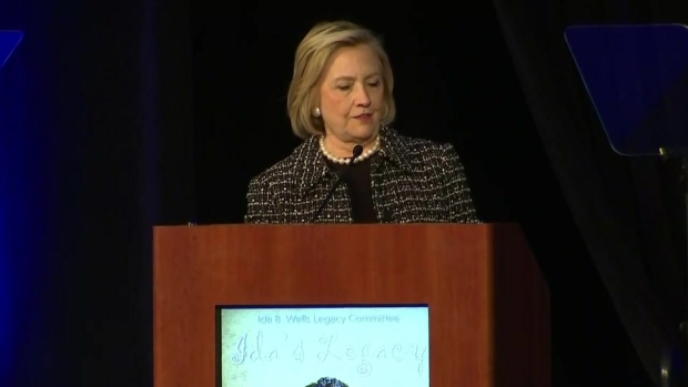 Watch: Hillary Clinton Speaks at Ida B. Wells Legacy Committee (Part 1)