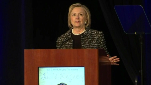 Watch: Hillary Clinton Speaks at Ida B. Wells Legacy Committee (Part 4)