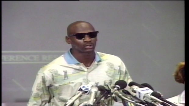 Michael Jordan Talks About Father's Murder