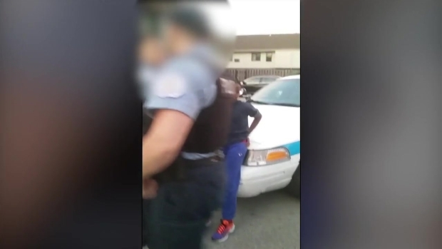 [CHI] Video Shows Chicago Police Handcuffing 10-Year-Old Boy