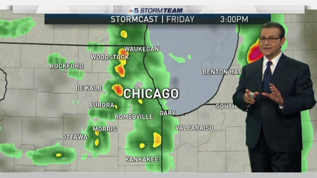 [CHI] Chicago Weather Forecast: Unsettled Weather Returns