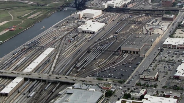 A Look Over Chicago's Union Station as Metra Reports Delays