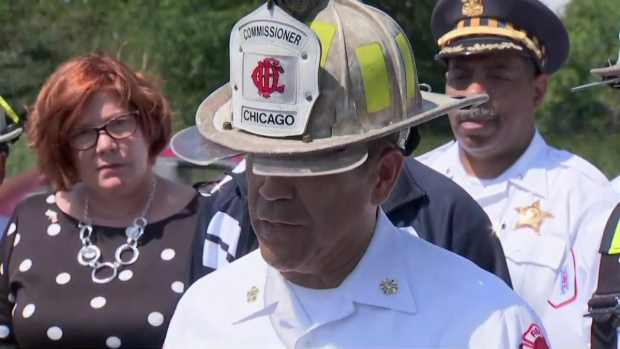 [CHI] Crews Tunneled 20 Feet to Reach Trapped Employee: Chicago Fire Commissioner