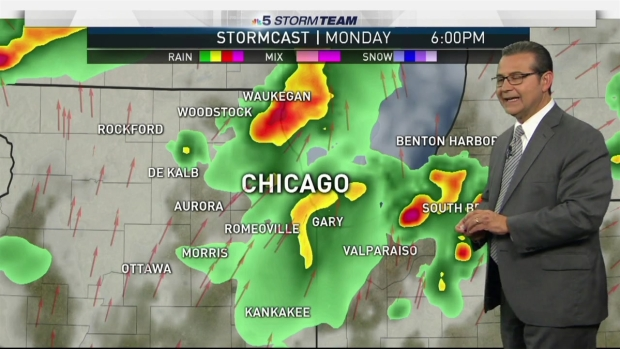[CHI] Forecast: Steamy, Stormy Labor Day