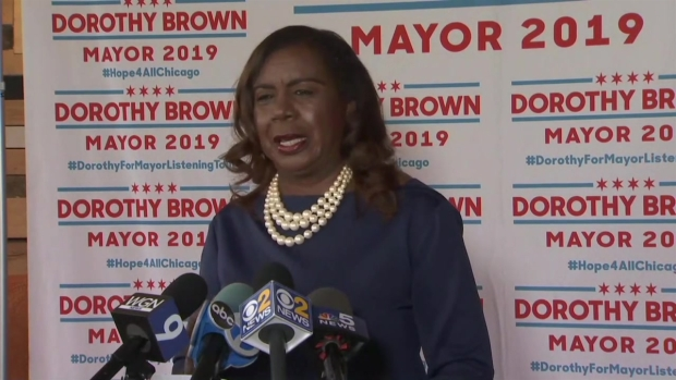 Dorothy Brown on Rahm: 'A Great Birthday Present'