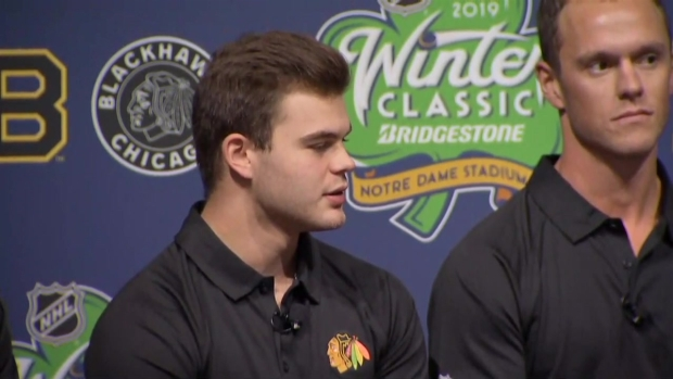 Alex DeBrincat Looking Forward to Winter Classic
