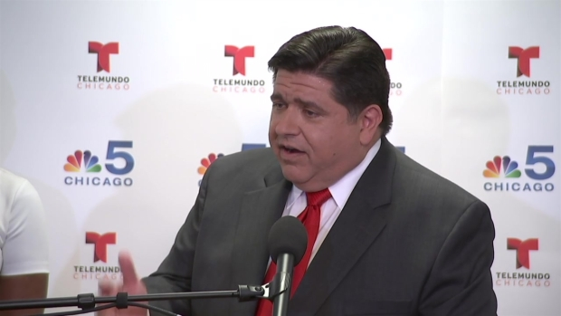 Pritzker Q&A After 1st Televised Forum in Race for Governor
