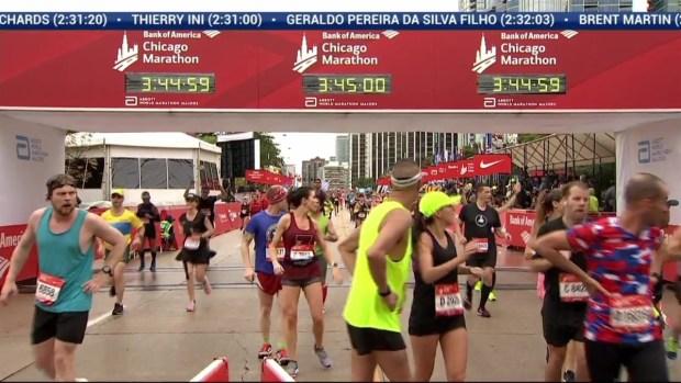 2018 Bank of America Chicago Marathon Finish: 3:42:28