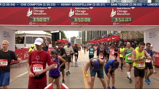 2018 Bank of America Chicago Marathon Finish: 3:47:31