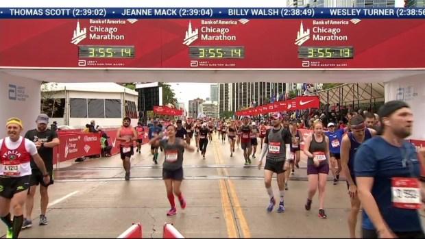 2018 Bank of America Chicago Marathon Finish: 3:52:43