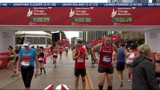 2018 Bank of America Chicago Marathon Finish: 3:58:02
