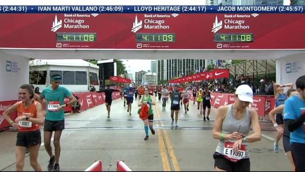 Bank of America Chicago Marathon Finish: 4:08:32