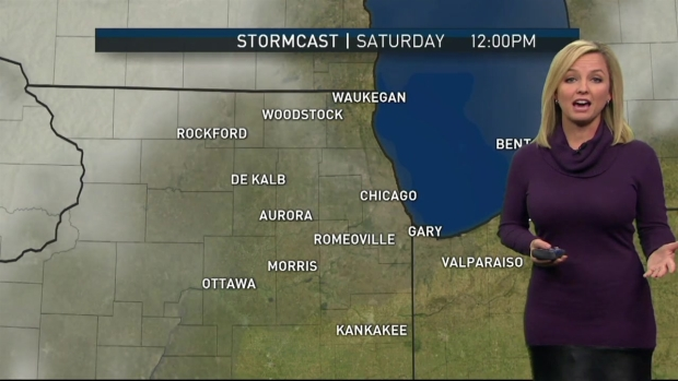 [CHI] Chicago Weekend Forecast: Chilly, Some Rain