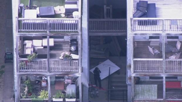 Police Investigate Construction Collapse