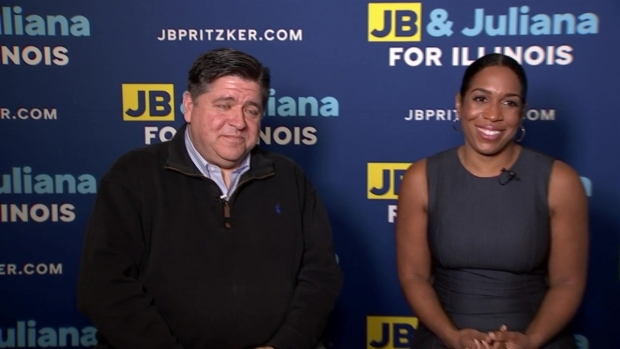 1-on-1 With J.B. Pritzker and Juliana Stratton