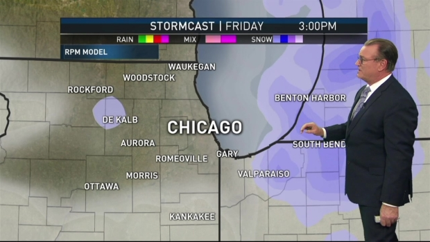 Friday Forecast: Snowy Weather on the Way