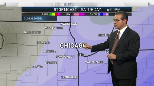 Winter Storm Watch Issued for Much of Chicago Area - NBC Chicago