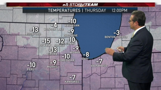 [CHI] Chicago Weather Forecast: Wind Chill Warning