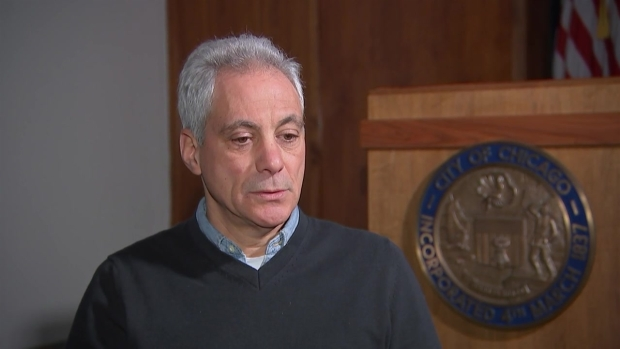 Mayor Emanuel Sits Down With NBC 5's Mary Ann Ahern