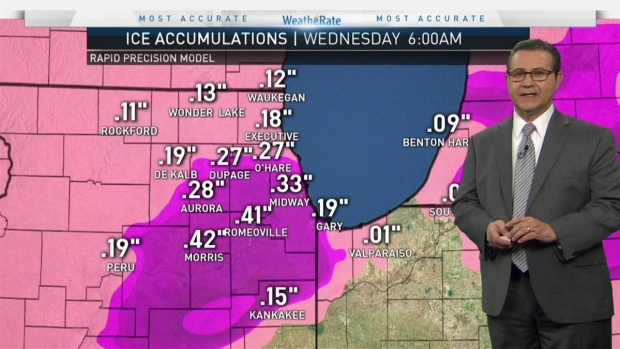 Chicago Weather Forecast: Ice Storm Warning