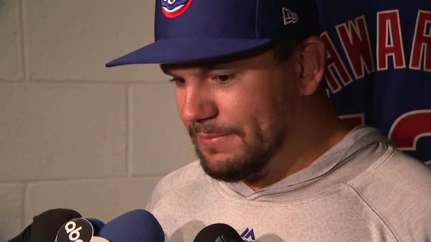 Kyle Schwarber Discusses Anthony Rizzo's Marriage