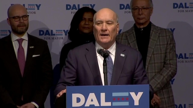 [CHI] 'We Will Move On': Daley Concedes in Chicago Mayoral Race
