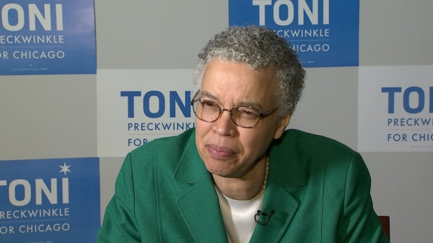 NBC 5 Interview With Toni Preckwinkle, Part 1