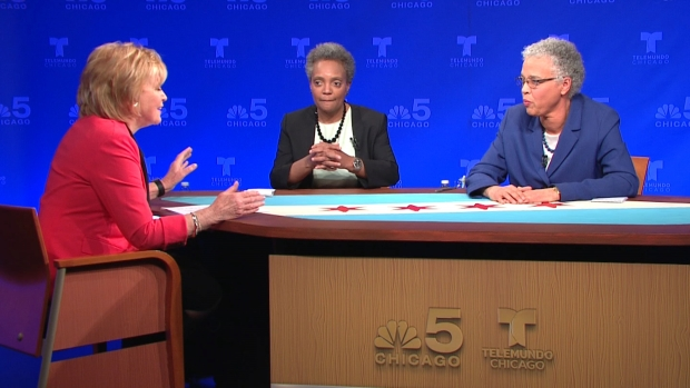Watch: Lightfoot, Preckwinkle Debate, Part 2