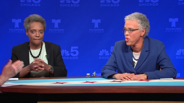 Watch: Lightfoot, Preckwinkle Debate, Part 3