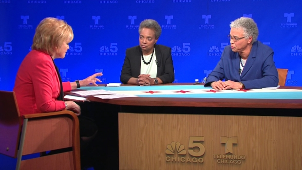 Watch: Lightfoot, Preckwinkle Debate, Part 4
