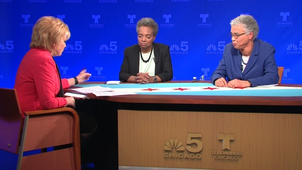 Watch: Lightfoot, Preckwinkle Debate, Part 5