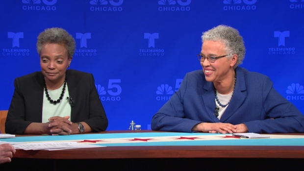 Watch: Lightfoot, Preckwinkle Debate, Part 10