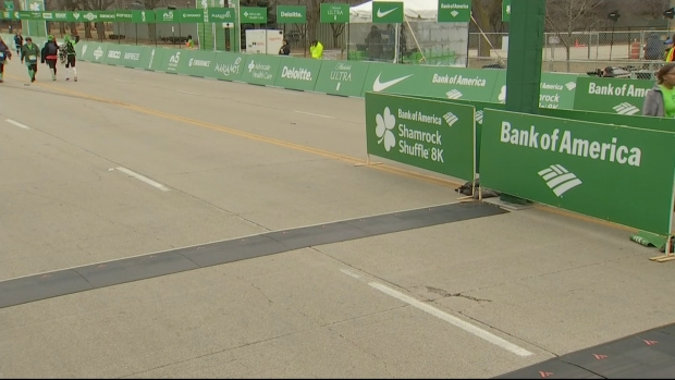 2019 Bank of America Shamrock Shuffle Finish Line Cam 9