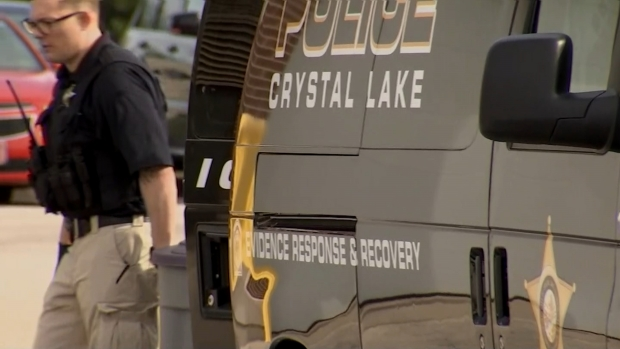 Evidence Seen Being Brought Into Crystal Lake Police Station