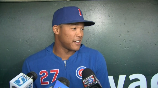 [CHI] Addison Russell Discusses Suspension, Return to Cubs