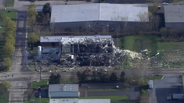 Sky5: A Look At Waukegan Industrial Plant Site Post Explosion